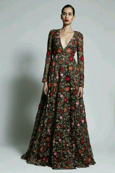 91cce80bd Haute Couture Dresses, Naeem Khan, Modest Dresses, Casual Dresses For  Women, Long