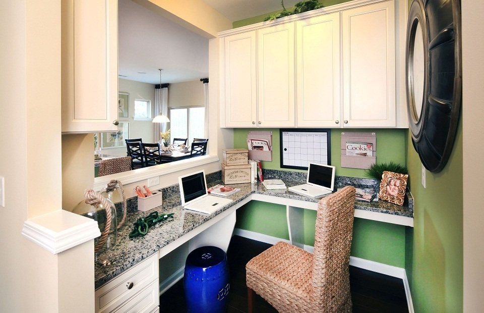The pulte planning center a space in your home to - New home design center checklist ...
