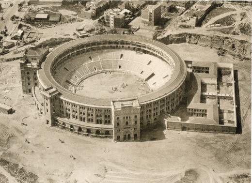Construcción de la actual Plaza de Toros de las Ventas, Madrid
