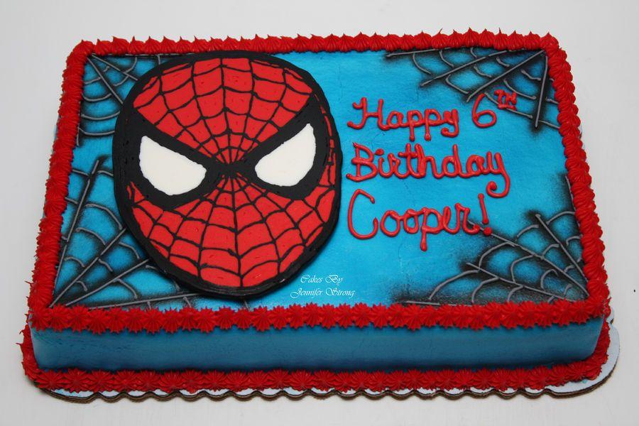 spiderman template for cake - sheet cake decorated sheet cake pinterest cake cake
