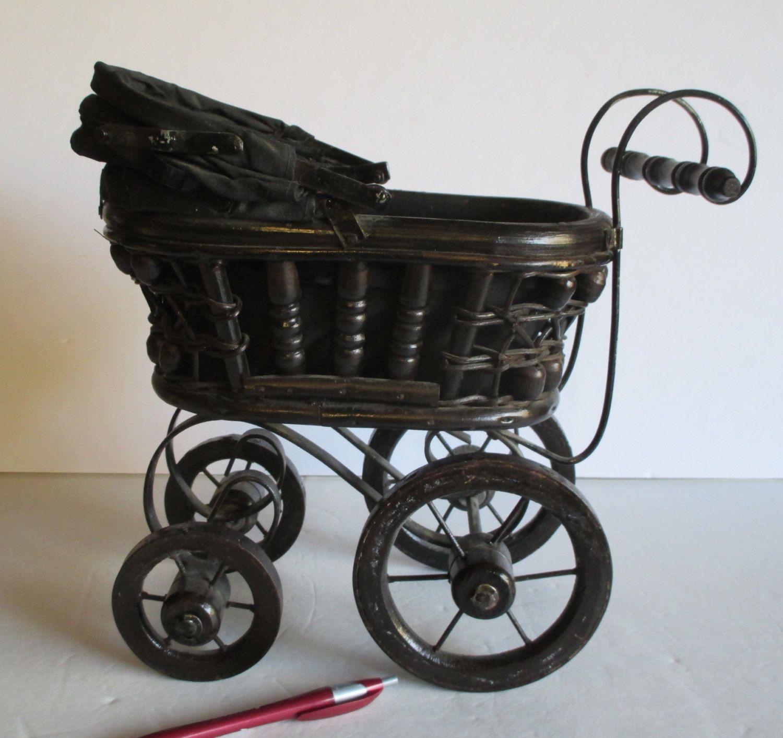 Sensible Wicker Stroller Toy/ Home Decore Home & Hearth