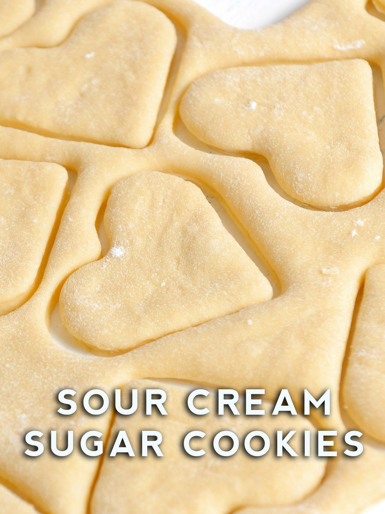 Sour Cream Sugar Cookies Recipe Sour Cream Sugar Cookies Best Christmas Cookie Recipe Cookies Recipes Christmas