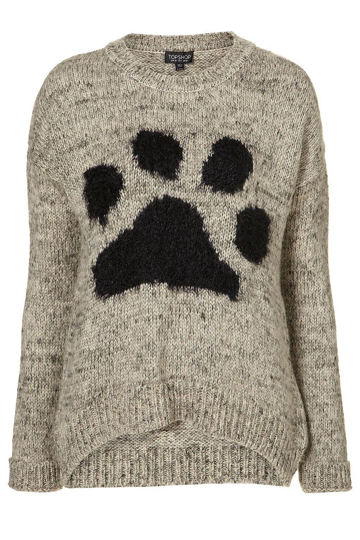 a722b2f59 Pretty Paw Print Sweater  )