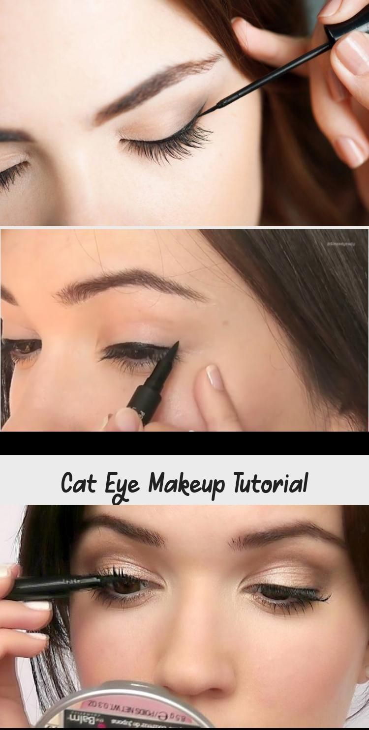 Cat Eye Makeup Tutorial - Pinokyo - That slender shape and outline – there's something about those feline eyes! The cat eye liner l | feline eyes shape #bridalEyeM #bridaleyem #cat #eye #eyes #feline #liner #makeup #outline #pinokyo #shape #slender #there #tutorial