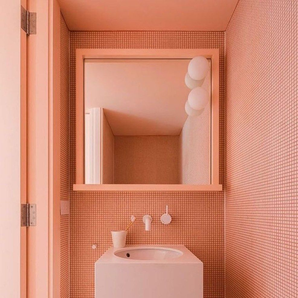 Coral Bathroom Ideas: COLOR OF THE YEAR 2019: LIVING CORAL