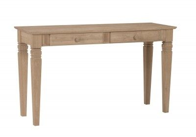 Ot 60s2 Java Sofa Desk With Drawers Rustic Sofa Tables Traditional Console Tables Unfinished Furniture
