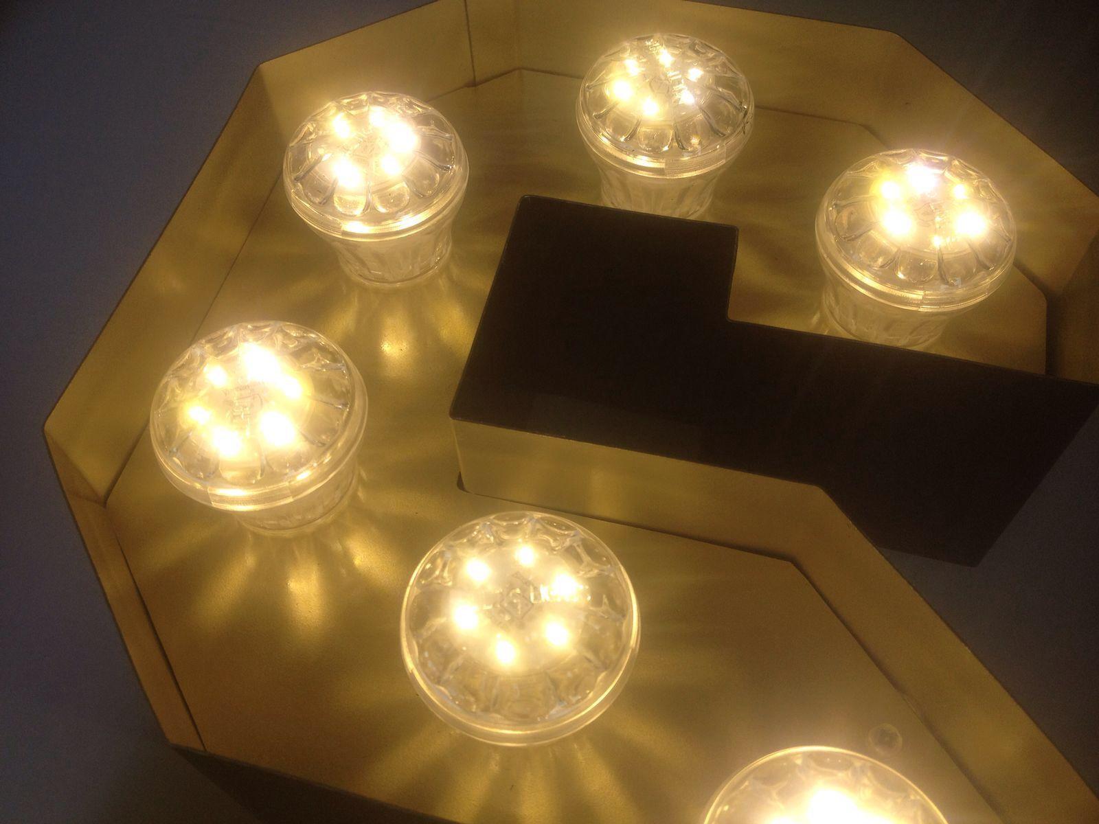 Marquee led letters met kermis lampen | LEDletters - letters met led ...