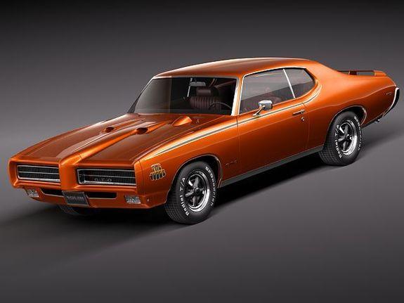 Pontiac Gto 1969 The Judge 3d Model Pontiac Gto Pontiac Gto 1969 Pontiac
