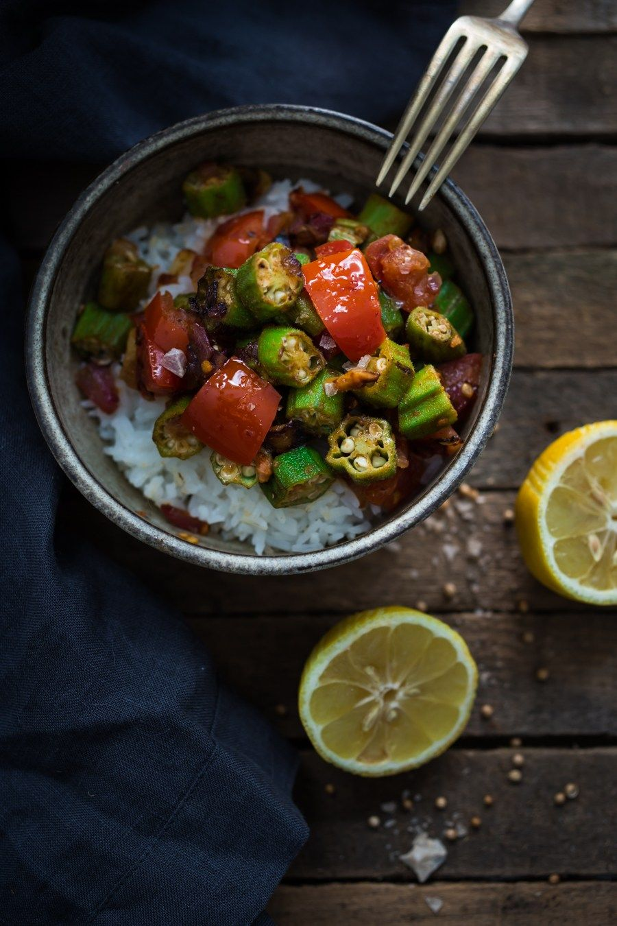 Egyptian okra recipe okra egyptian and middle egyptian okra egyptian recipesegyptian foodvegan forumfinder Gallery