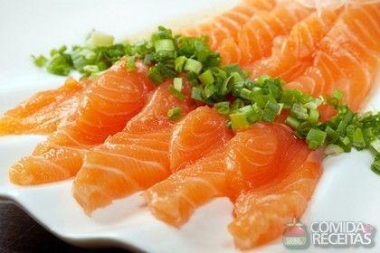 Receita de Sashimi de tilápia - Comida e Receitas