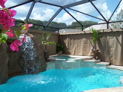 Pin By Autumn Sterling On Dream House Outdoor Privacy Outdoor Curtains For Patio Pool Enclosures