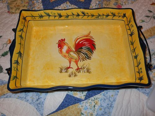 QVC Temptations Rooster 9\