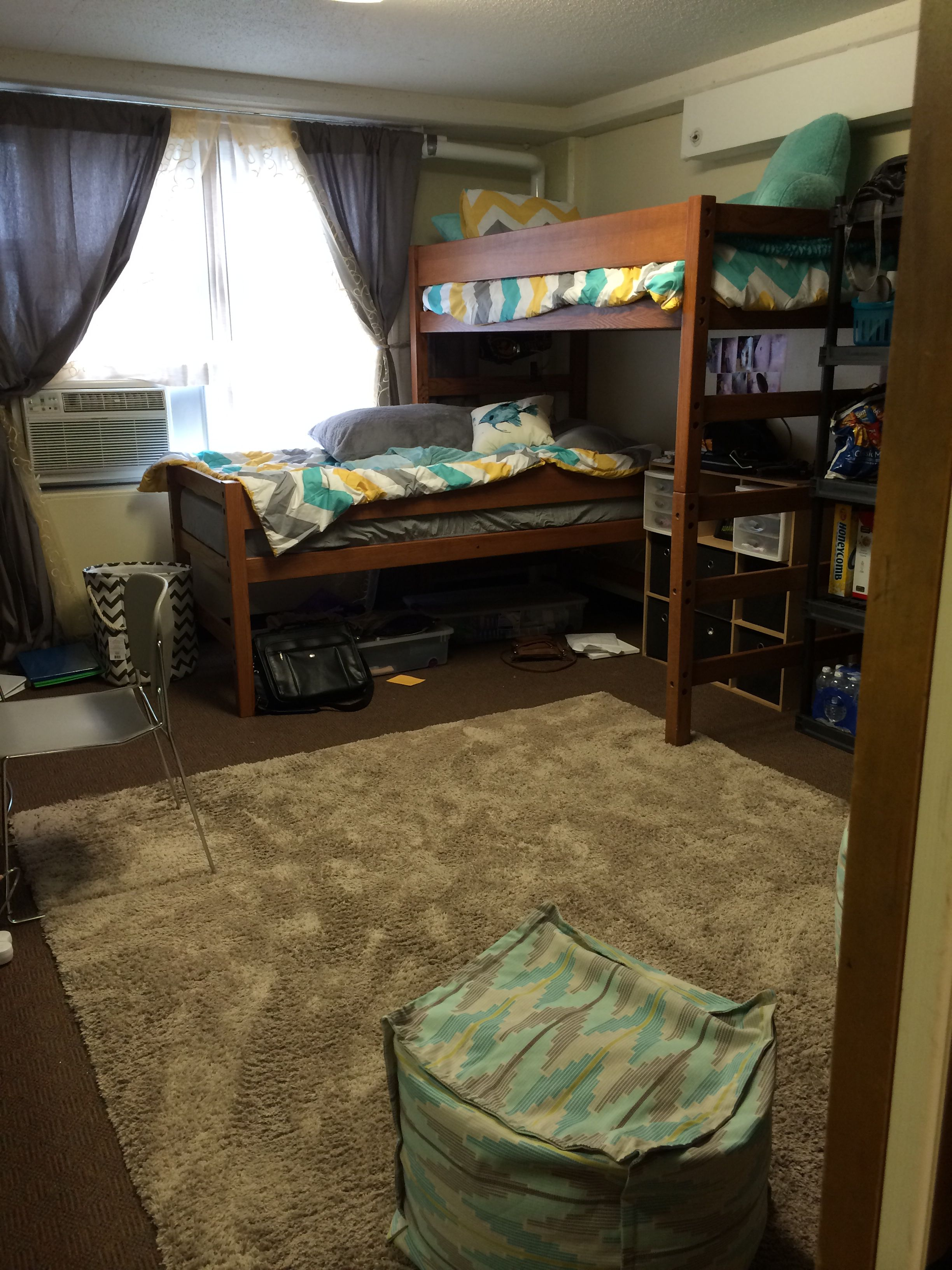Dorm Room Layouts: Dorm Room- Burge At University Of Iowa!! L-bunk