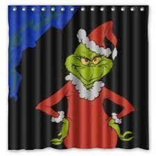 Image Result For Grinch Shower Curtain Christmas Decorations