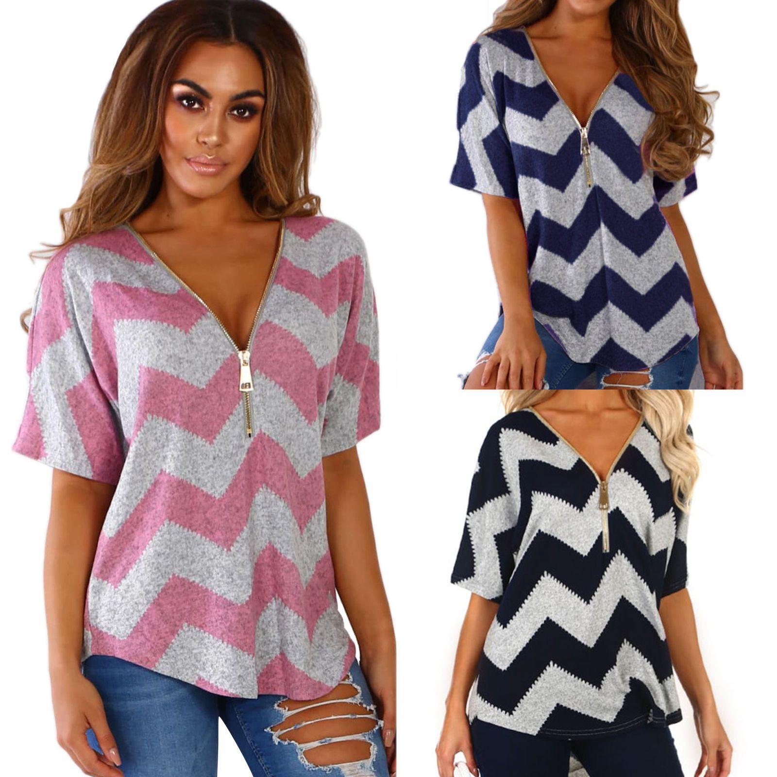 6a29e31bd112 Women Short Sleeve Loose T Shirts Fashion Ladies Summer Casual Blouse Tops  Shirt Shirt Pins
