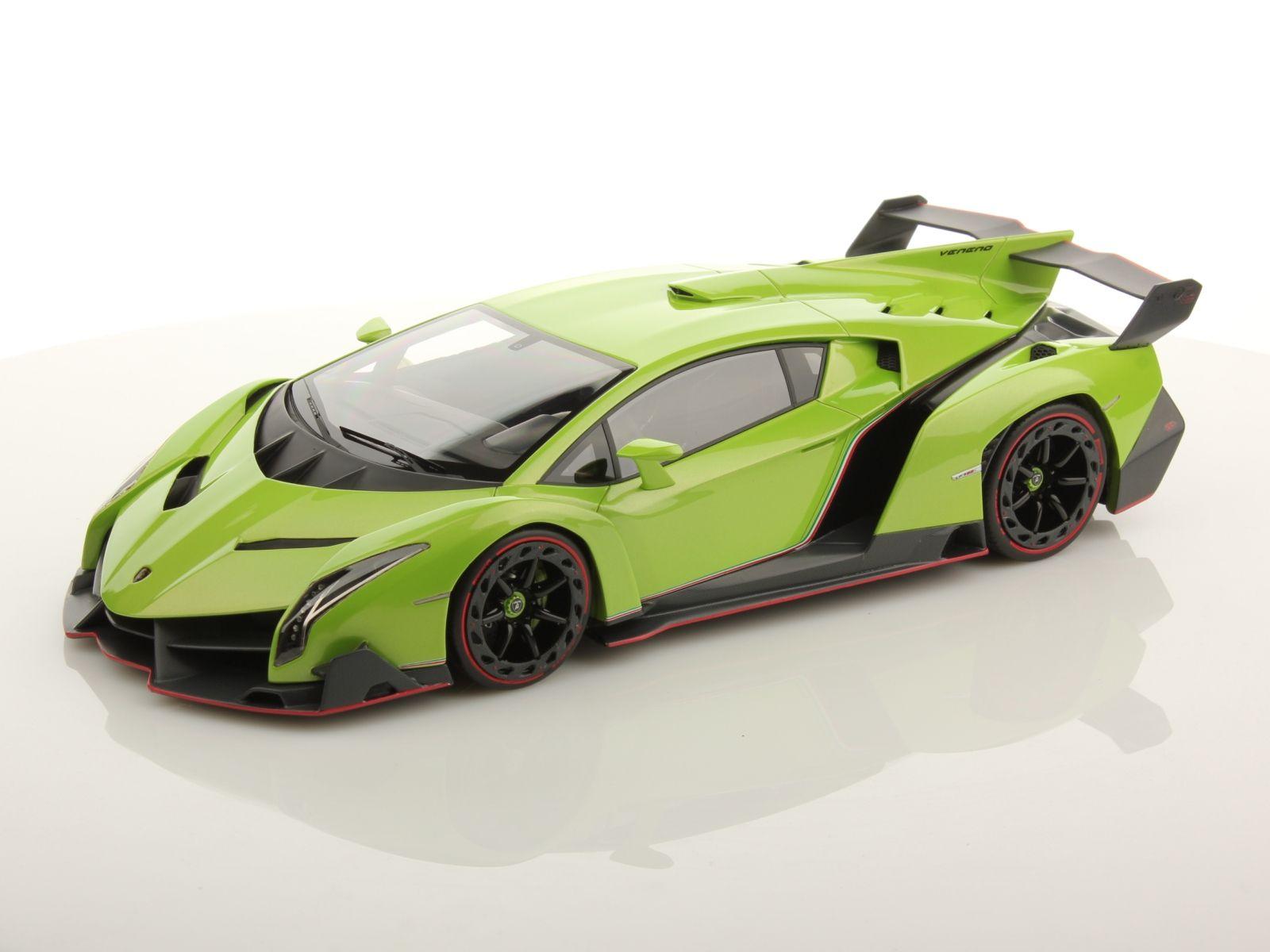 Wallpapers Green And Lamborghini On Pinterest: Lamborghini Veneno Green Miniatur Hd Wallpaper