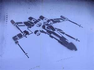x wing pumpkin template  Star Wars X Wing Stencil | Star wars tattoo, Star wars ...