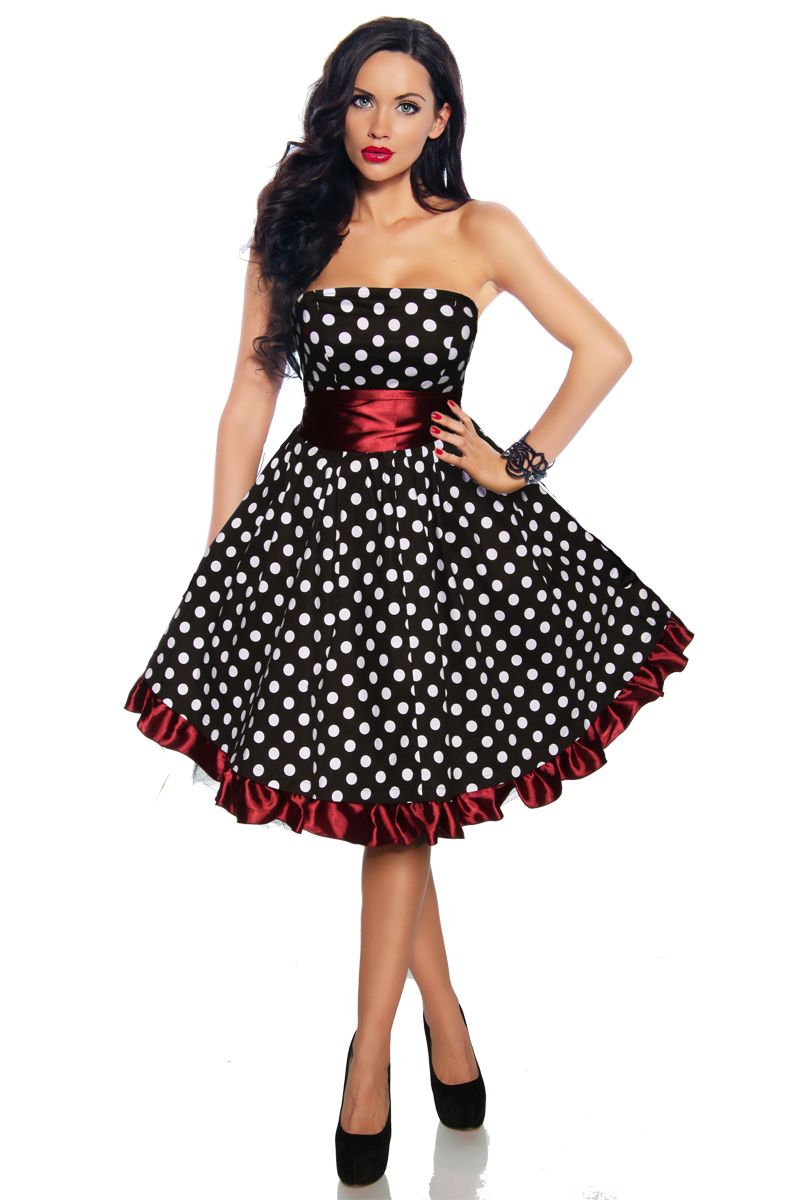 details zu rockabilly 50er kleid petticoat pin up party l xl 57 hochzeit pinterest kleider. Black Bedroom Furniture Sets. Home Design Ideas
