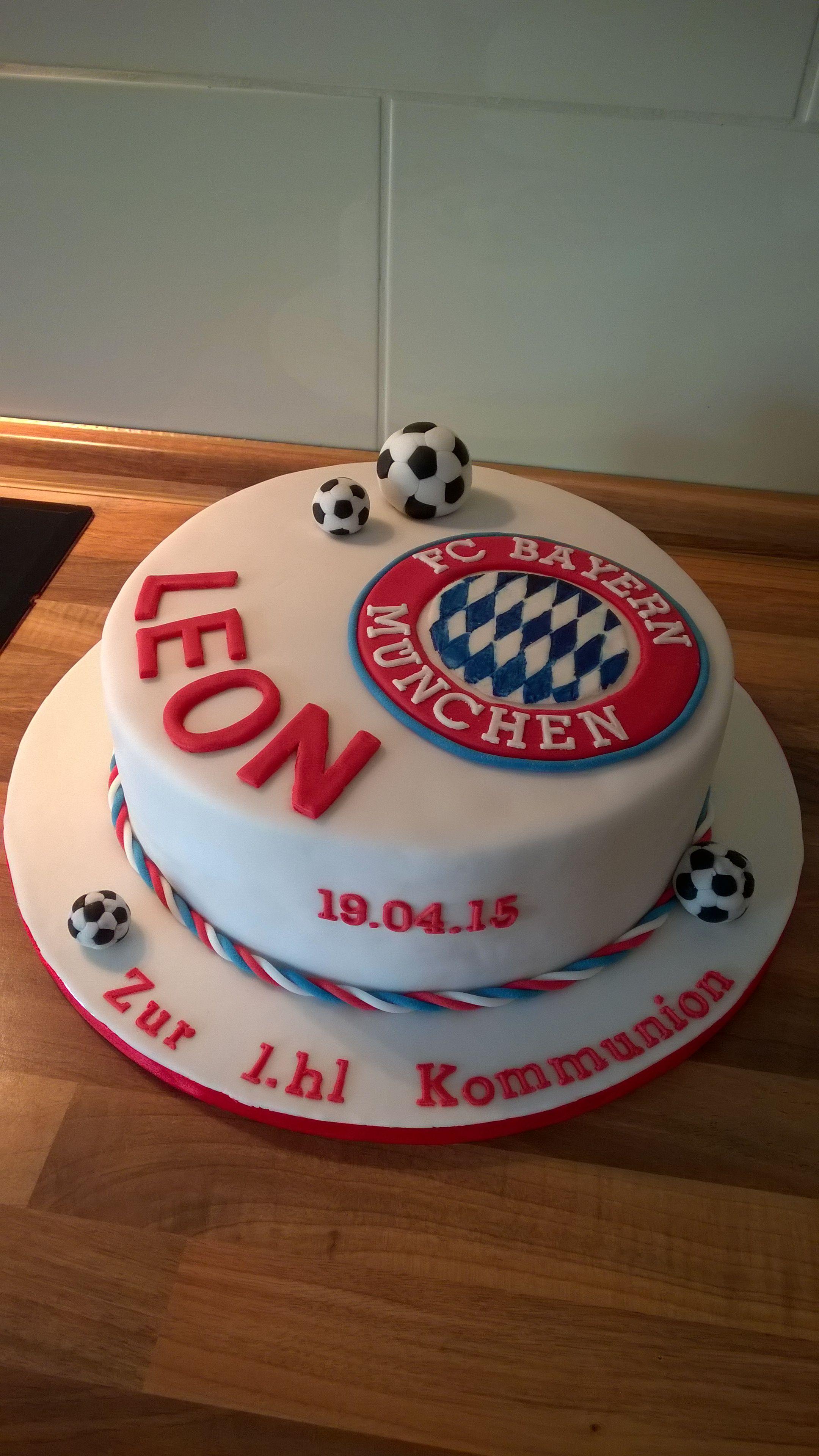 Bayern m nchen torte kuchen pinterest bayern for Pinterest kuchen