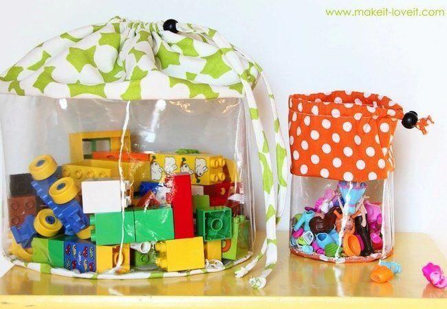 Toy Storage Ideas Clear Bags Kidstoystorage