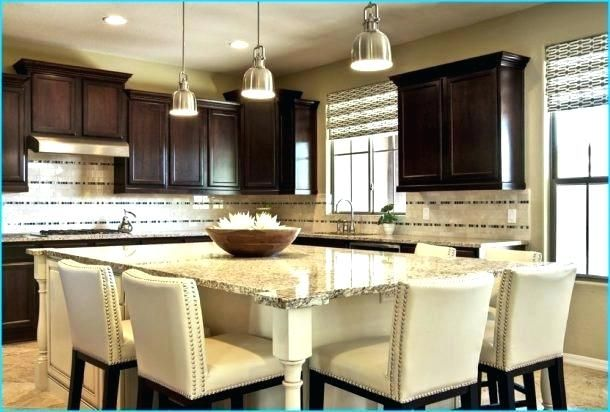 Kitchen Island Seats 6 Topic Related To Islands That Seat Images Seating Ideas With Table For