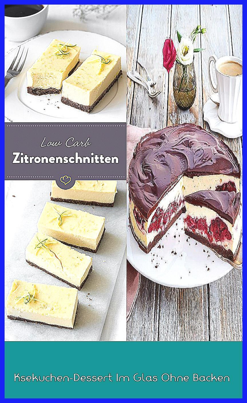 Photo of Ksekuchen-Dessert Im Glas Ohne Backen