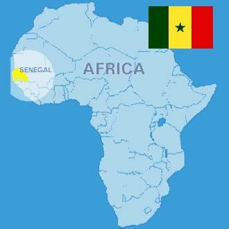 Senegal Africa Map senegalese map | Senegal Project | Study abroad, Study, French