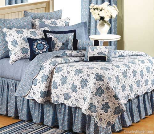 Chesapeake Bay Blue Quilt | Baths and Bedrooms | Pinterest | Blue ... : blue quilts bedding - Adamdwight.com