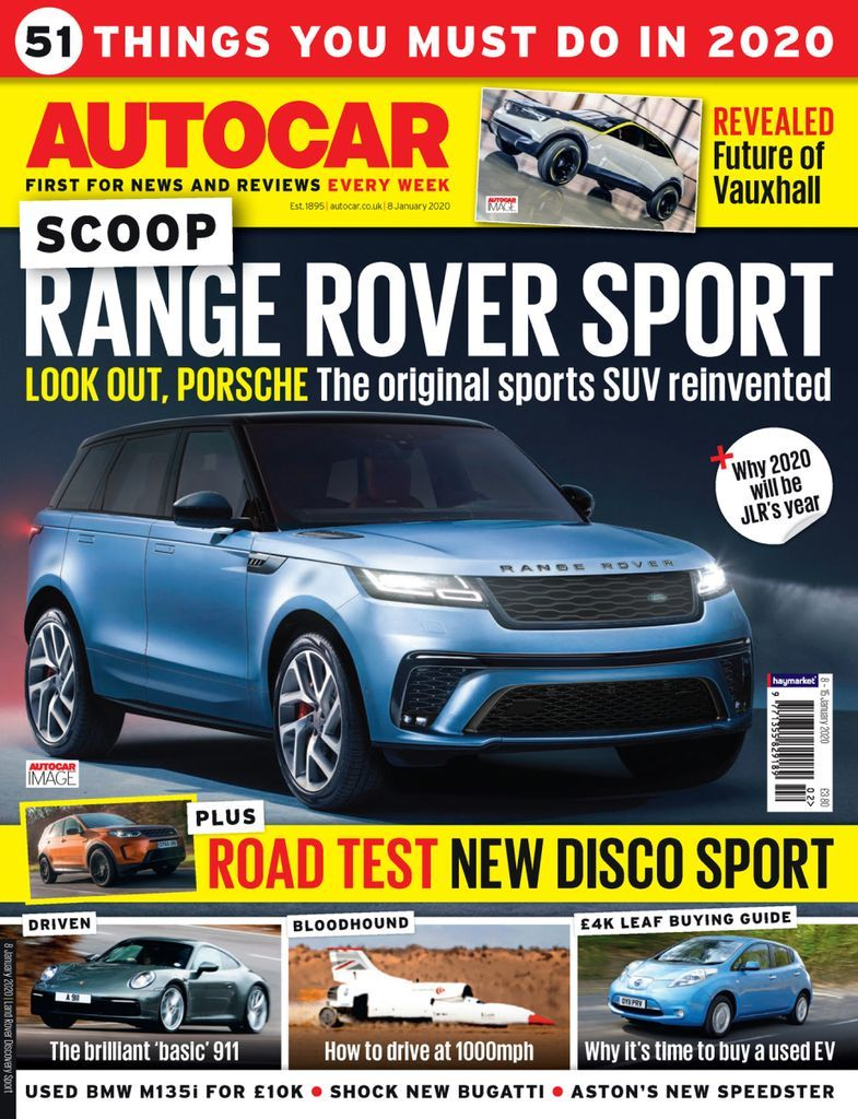 Autocar is the car nut's weekly fix, delivering you a unique mix of the latest news, opinion, features, first drives of new cars and in-depth road tests – all complemented by the best photography in the business. No other magazine covers the subject you love with such enthusiasm, insight and quality every week of the year. Autocar stands for the highest quality in car journalism – and is rewarded with access to the best new cars and the biggest news stories before any of the opposition which we