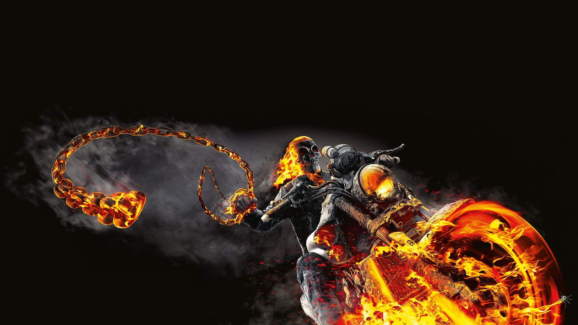 Ghost Rider Spirit Of Vengeance Hd Wallpapers Backgrounds