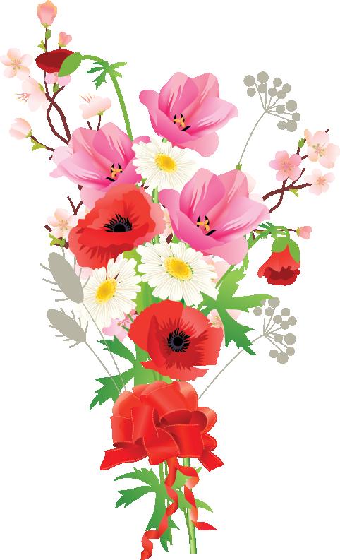 Tubes fleurs bouquets mariposas y flores pinterest - Dessins de bouquets de fleurs ...