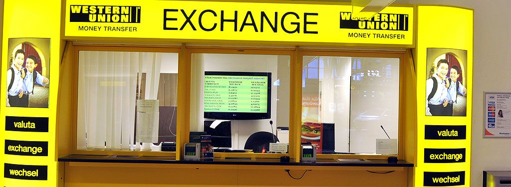 Western Union Currency Exchange Malmö Airport