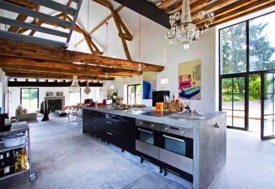 Burgundy Barn Renovation by Josephine Interior Design | Inhabitat - Sustainable Design Innovation, Eco Architecture, Green Building