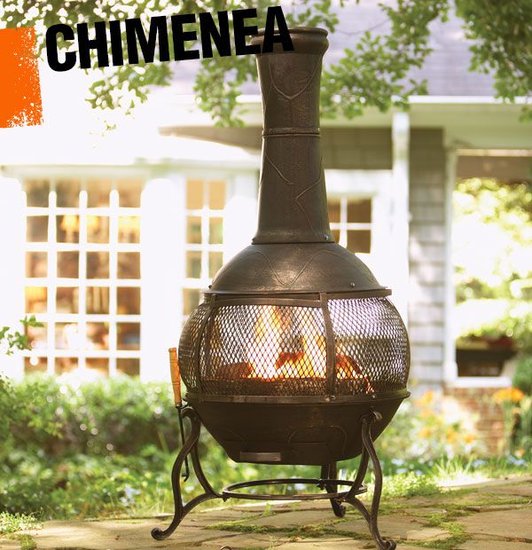 A Chimenea Is A Freestanding Fireplace That Is Usually