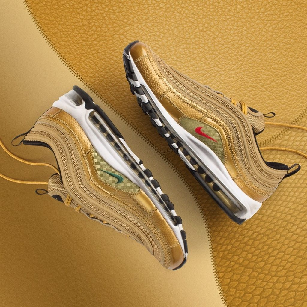 reputable site 98c16 a0418 Cristiano Ronaldo x Nike Air Max 97 CR7 « Golden Patchwork »