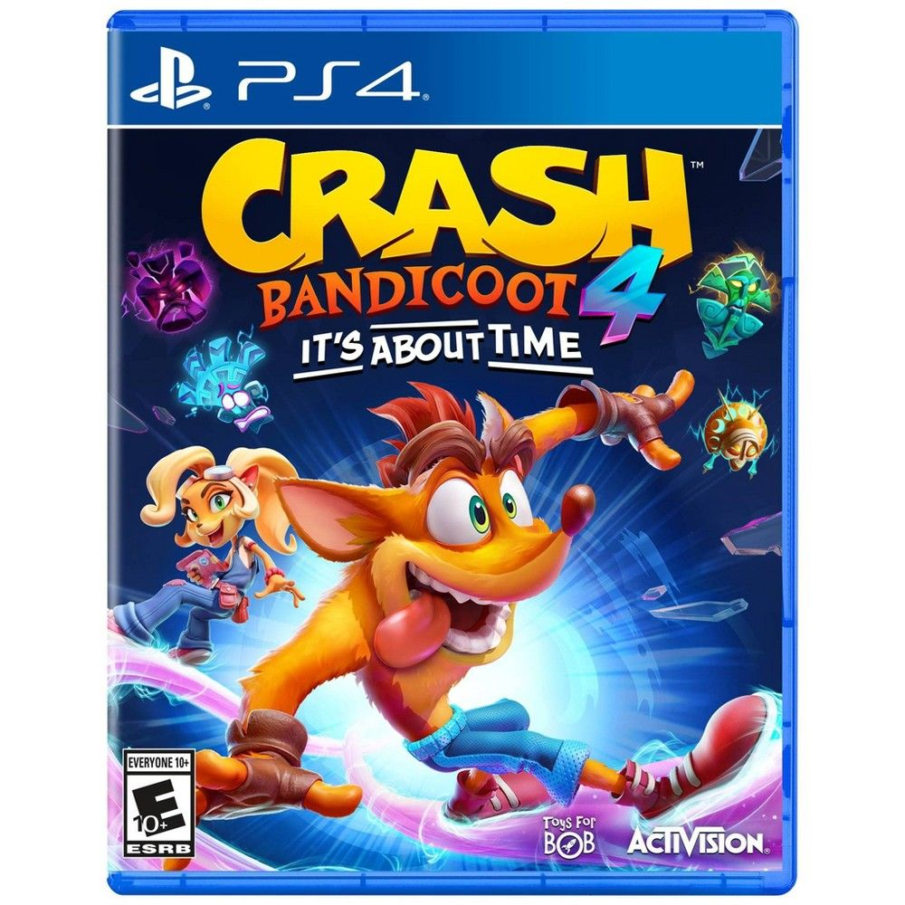 Crash Bandicoot 4 It S About Time Playstation 4 Crash Bandicoot Bandicoot Activision