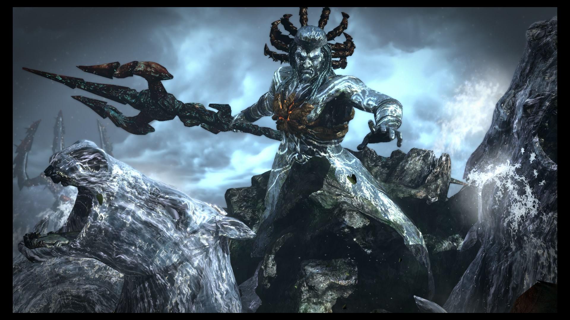 Poseidon God Of War Iii Remasterizado God Of War Ems Tattoos Statue