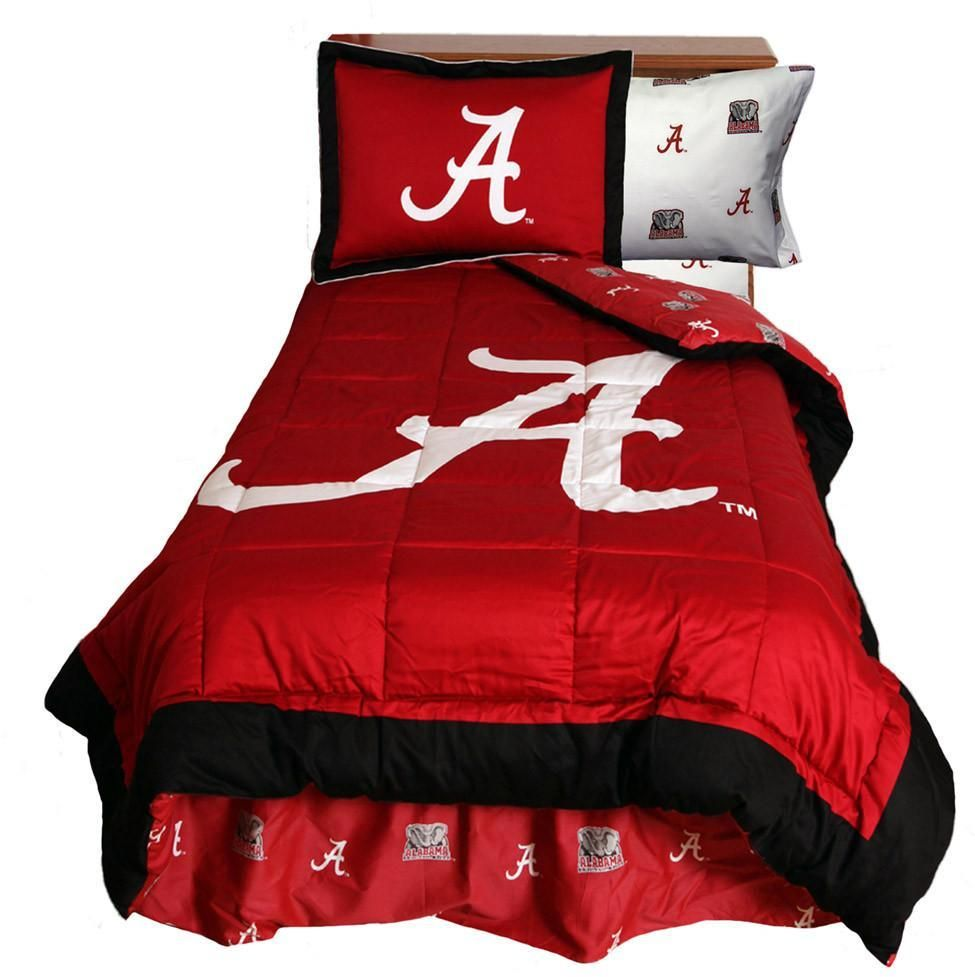 Alabama Reversible Comforter Set King Alacmkg By College Covers