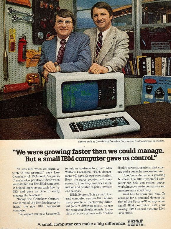 85 Funny And/Or Ridiculous Vintage Computer Ads   Computers