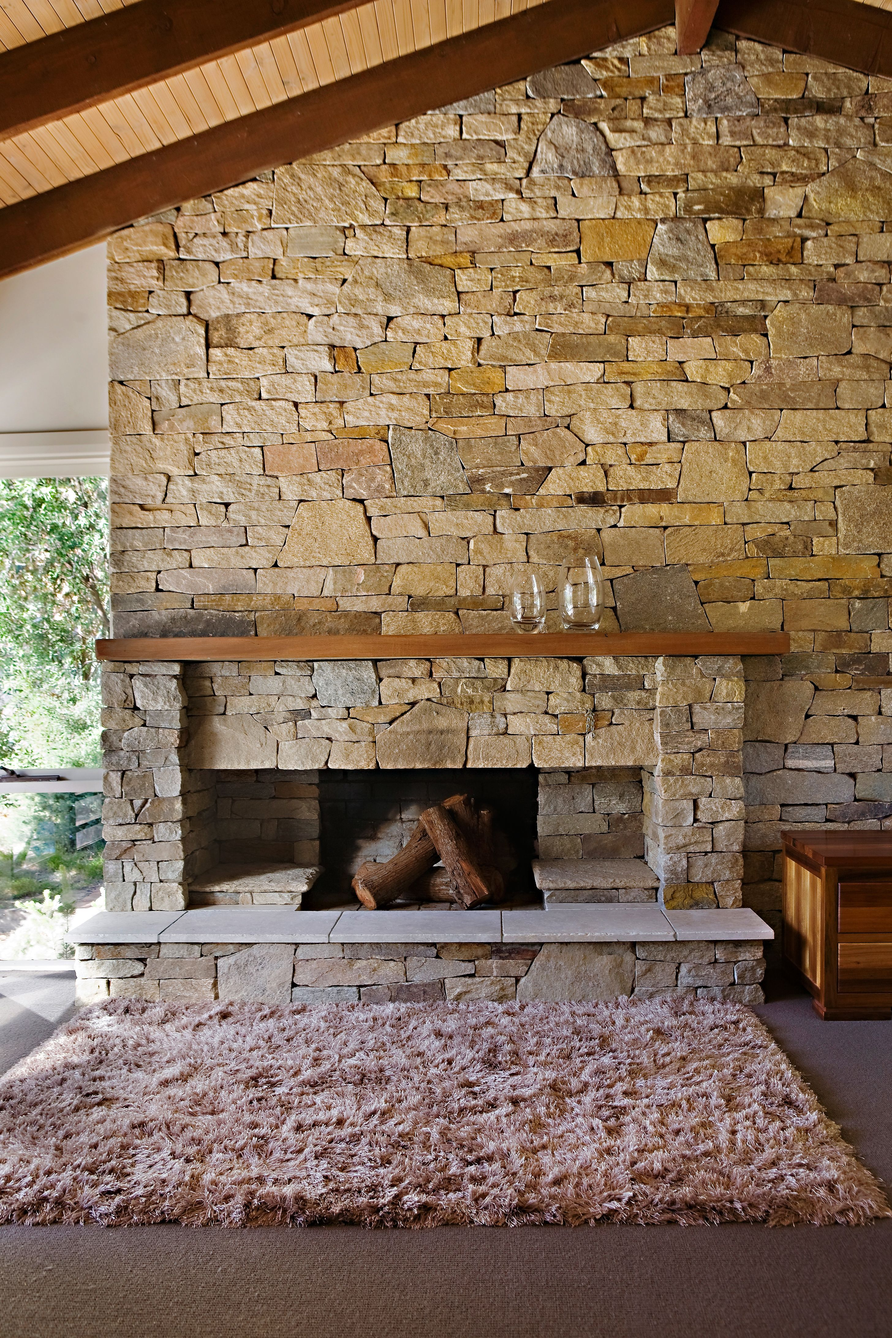 Eco Outdoor Alpine dry stone and Howqua free form walling creates this charming indoor fireplace. Eco Outdoor | Rolling Stones Landscapes | Alpine dry stone ... & Eco Outdoor Alpine dry stone and Howqua free form walling creates ...