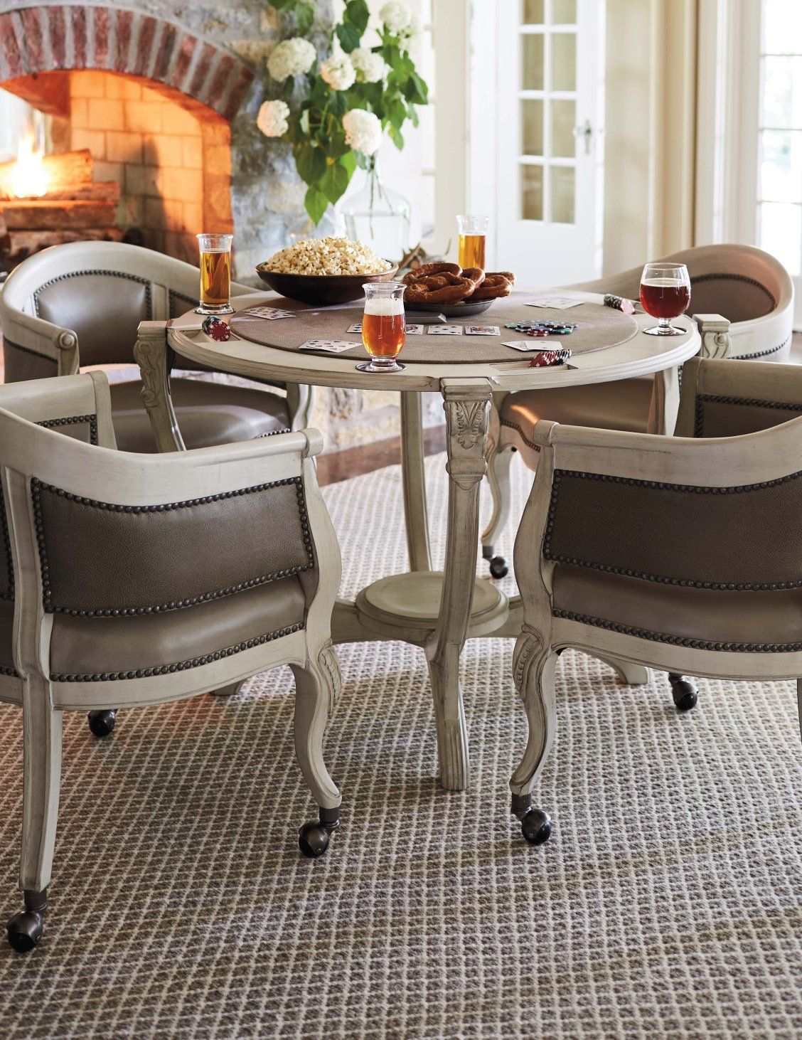 Montgomery Game Room Furniture Game Table And Chairs Quality