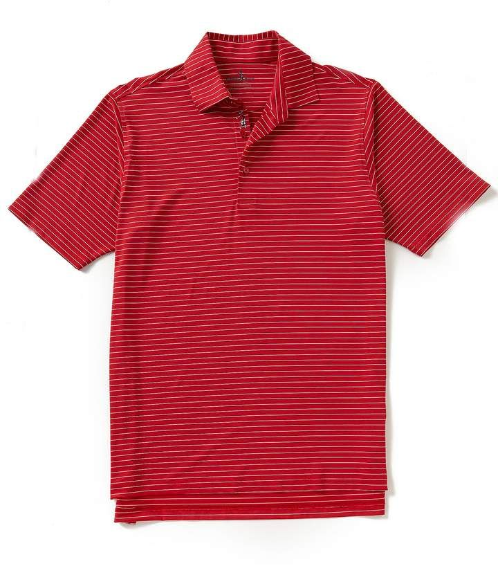 3592f1cc Bobby Jones Golf Performance Poly Line Stripe Polo | Mens Athletic ...