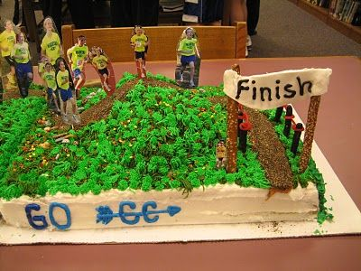 Cross Country Cake With Images Cross Country Gift Country