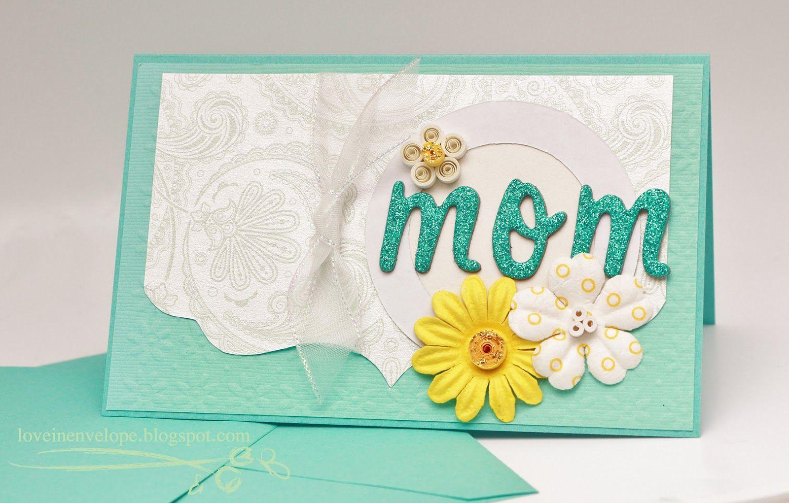 Handmade cards for birthday for mom making birthday