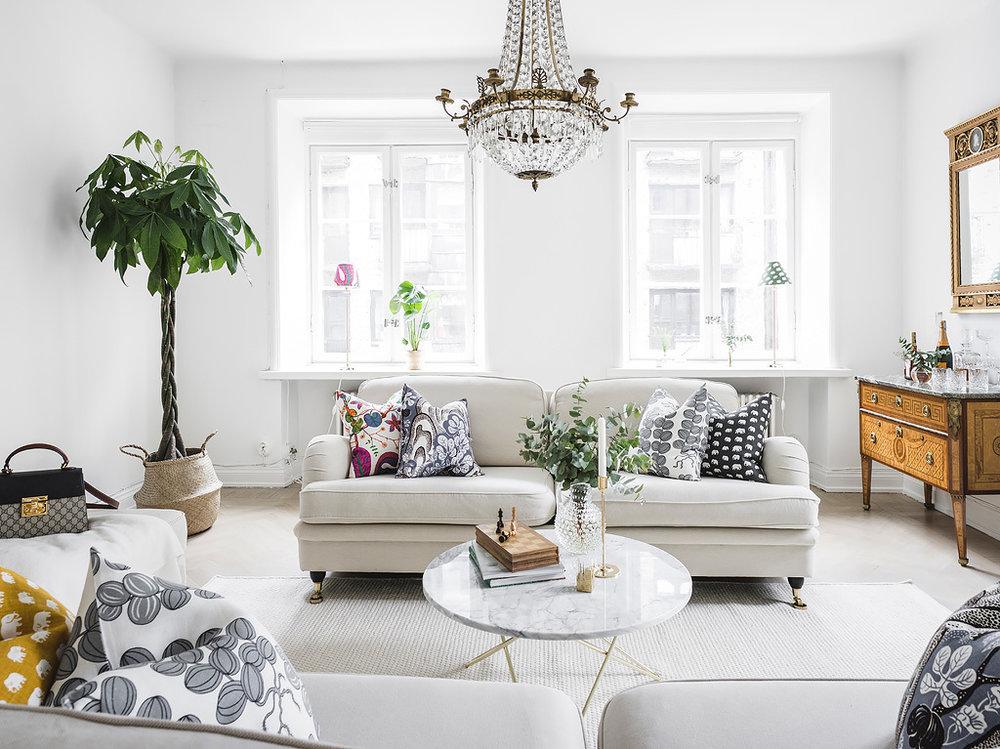 Swedish Grace Scandinavian Art Deco Nordique Nordic Lifestyle Scandinavian Design Nordic Products Rustikt Vardagsrum Dekorera Ideer For Heminredning #scandinavian #living #room #furniture