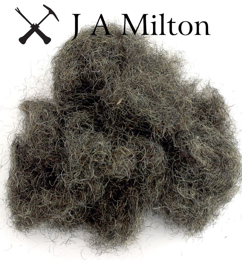 J a Milton Sell Three Different Loose Fillings Black Fiber Animal