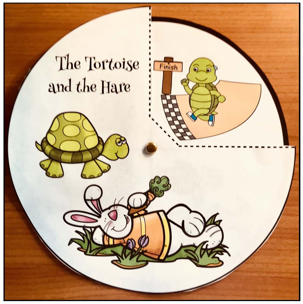Activities For The Tortoise Amp The Hare An Aesop Fable