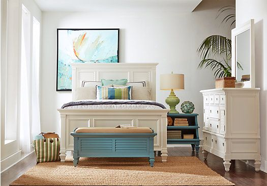 Belmar Queen White 7Pc Panel Bedroom . $1,655.00. Find Affordable Queen Bedroom  Sets For Your