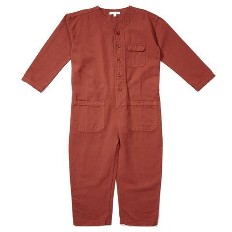 ef2e1658f Caramel Soko Kid's Jumpsuit in Cinnamon   BIEN BIEN   kids ...