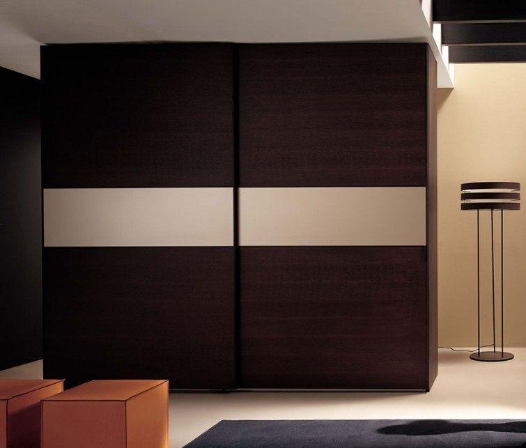Modern Sliding Wardrobe Hpd433 Sliding Door Wardrobes Al Habib